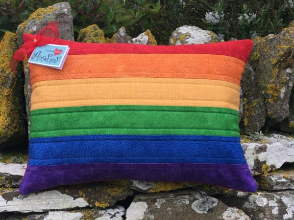 Pride/rainbow Flag Cushion